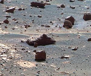 First autonomous Mars image