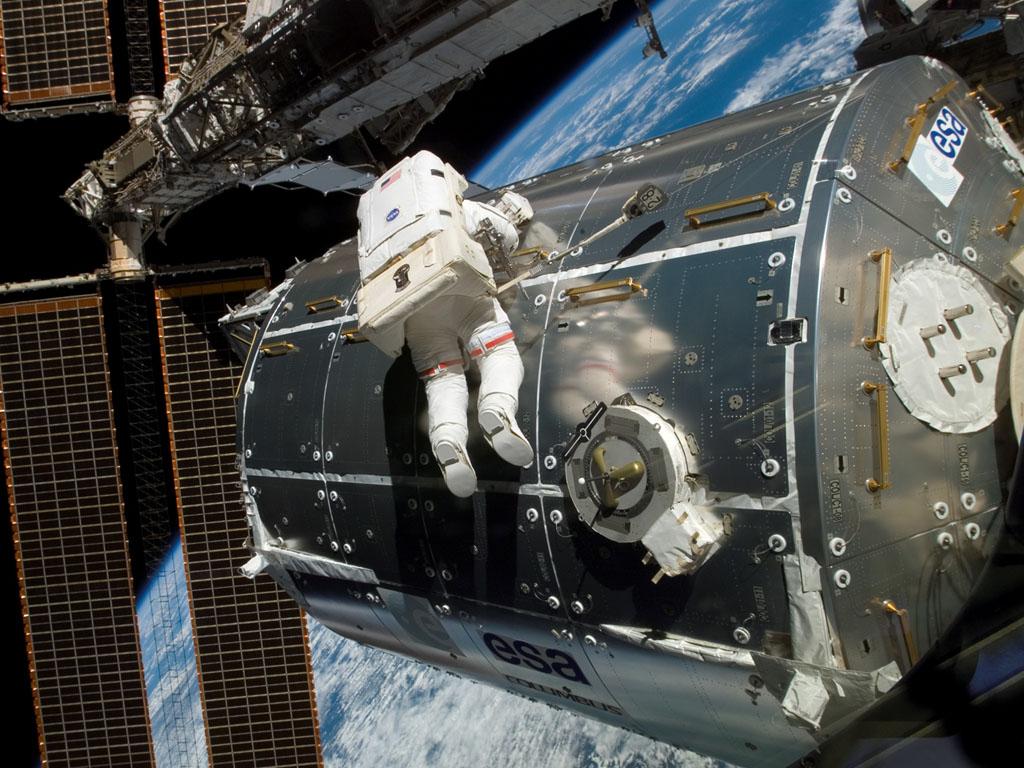 Quantos humanos estão no Espaço neste momento?