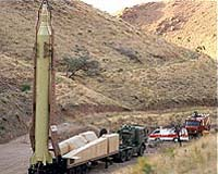 The Iranians are suspected to have used an upgraded Shahab 3 for their space rocket test.